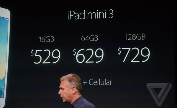 Цена Apple iPad mini 3