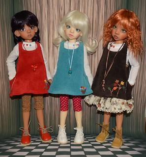 Layla, Izzy, Larissa