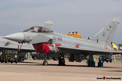 C.16-22 - 11-02 - SS002 - Spanish Air Force - Eurofighter EF-2000 Typhoon S - Fairford RIAT 2006 - Steven Gray - CRW_1289