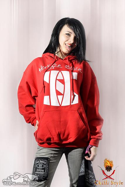 Mikina Horkýže Slíže - Logo red/white