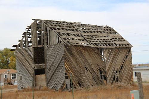 newmexico building barn ruin cerro