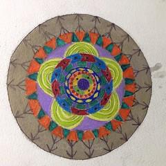 "My ""intuitiom"" mandala. #bloomtrue"