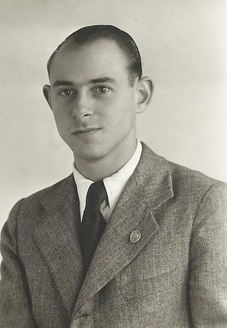 Roberto Kallmeyer hacia 1935