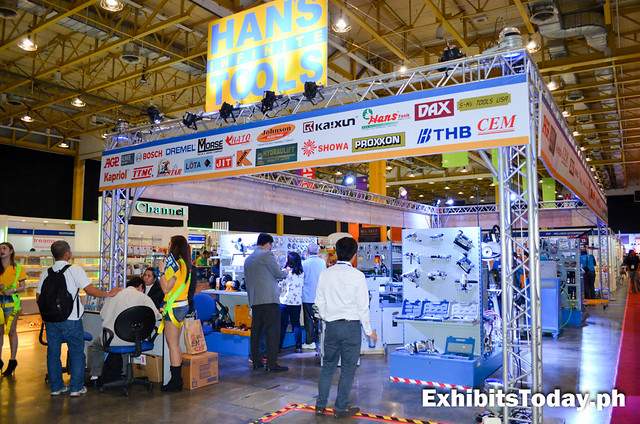 Hans Infinite Tools Exhibit Booth