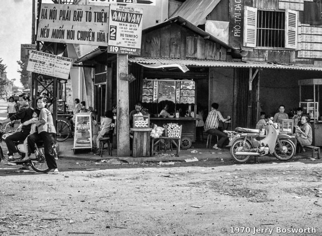 The Streets of Saigon 1970 - Photo by Jerry Bosworth