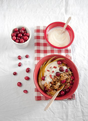 Sweet spelt grains with pears,cranberries,walnuts…