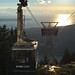 Gondola at top of Grouse Mountain