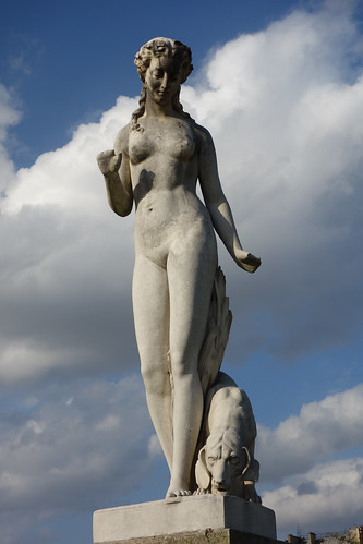 2014 - 10 - 09 - Edmond Leveque - Nymph and Her Dog 1866