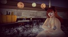Halloween Hot Tubbing