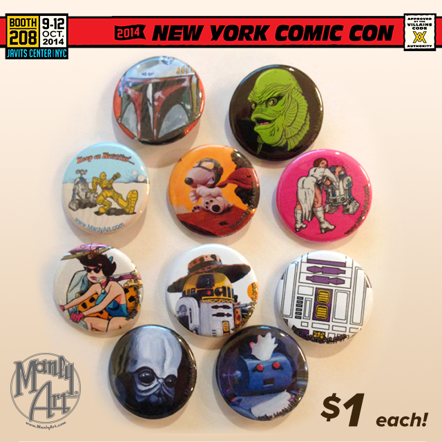 Buttons NYCC