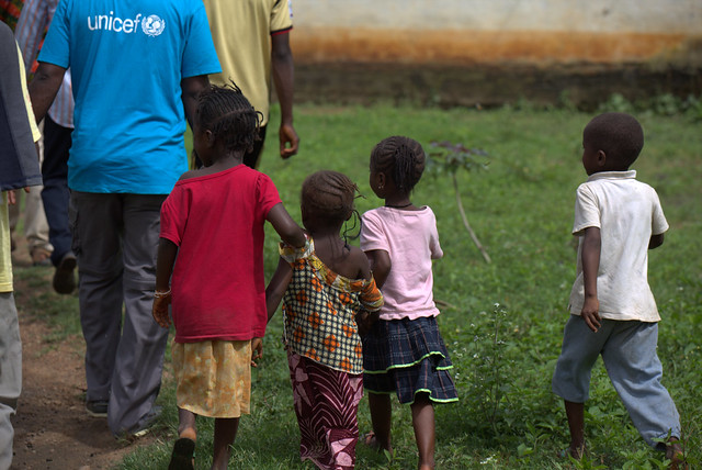 Ebola orphans tell their story to UNICEF. They are safe with their extended familes but their needs are still great