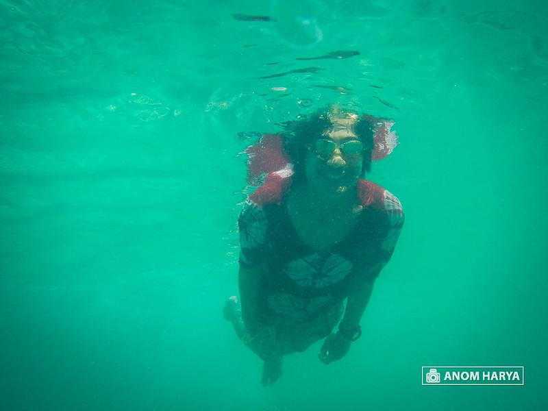 Waktunya berenang di Segara Anakan