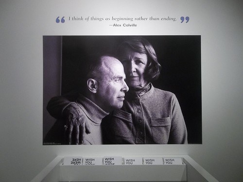 Photo of Alex Colville with wife Rhoda Wright