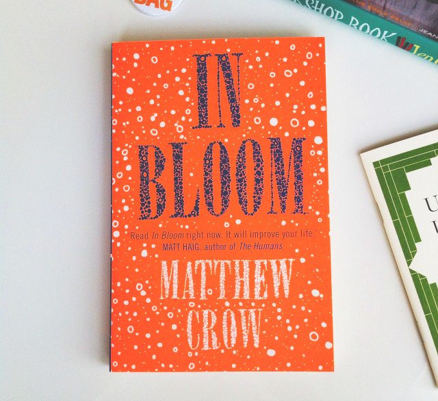 in bloom matthew crow lifestyle book vivatramp uk books are my bag
