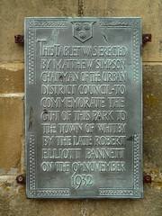 Photo of Grey plaque № 32979
