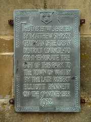 Photo of Grey plaque number 32979