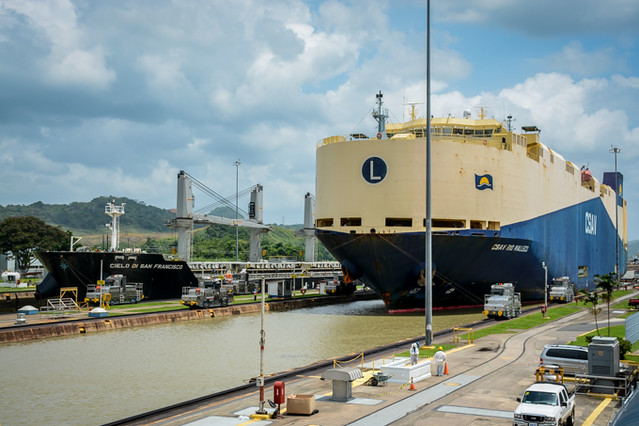 Admire The Panama Canal