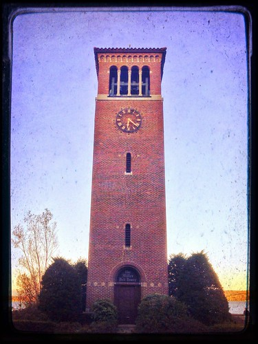 autumn sunset belltower wny chautauqua chautauqualake themillerbelltower