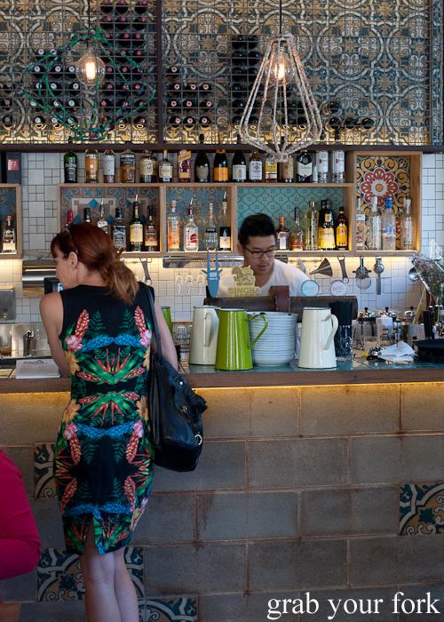 Bar counter at Mama's Buoi, Surry Hills