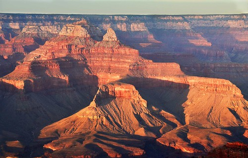 sunset usa grand canyon southrim