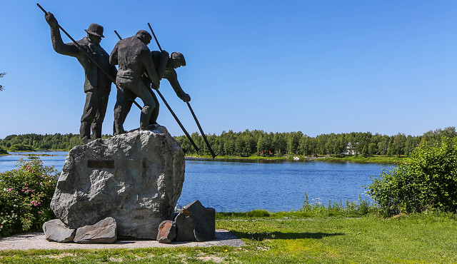 Sol en Finlandia central