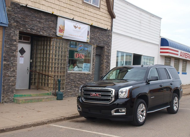 2015 GMC Yukon at Dave's Southern Grille