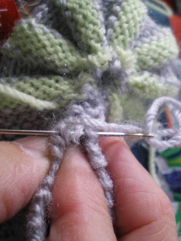 Tricot facile - Zoom sur le montage des chaussons hollandais ou citrouille
