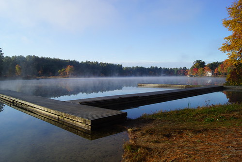 Dock on Naticook Lake