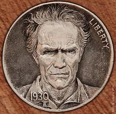 Hobo Nickel Clint Eastwood