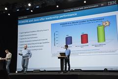 John Duimovich, JavaOne Keynote IBM, JavaOne 2014 San Francisco