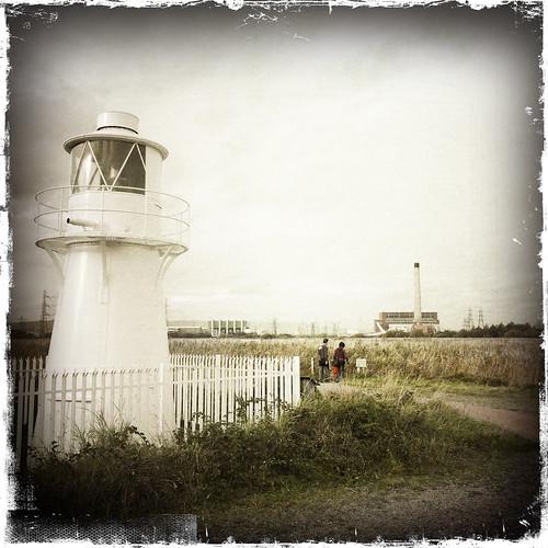 Usk East Lighthouse, Newport Wetlands