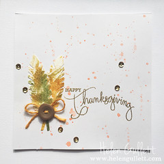 Watercolor Fall Card 3