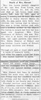 2014-10-12. Ida Lewin Sievert obituary