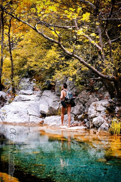 naturist 0003 E4 trail, Mount Olympus, Greece