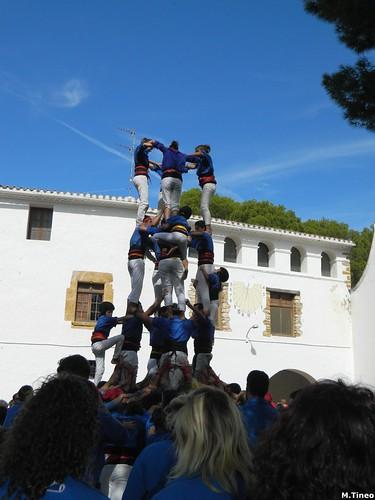 Quinquennals d'Alcanar, Castellers d'Esplugues