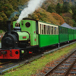 Steam train in Autumn.