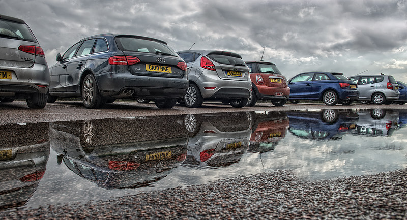 Car Park Reflections