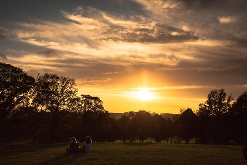 camera sunset london canon photography lowlight scenery shot wideangle scene pointofview gb capture 1740mm underexposed regentpark