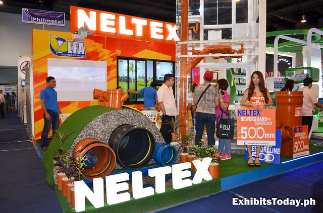 Neltex Exhibit Booth