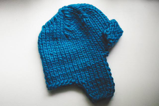 Trapper Hat, knit