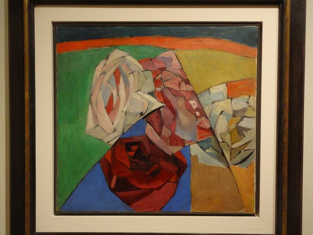Flowers, by Aristarkh Lentulov. (1913).
