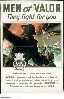 Men of Valor: They Fight for You – war propaganda campaign / Ce qu'il faut pour vaincre ‒ Affiche de propagande de guerre