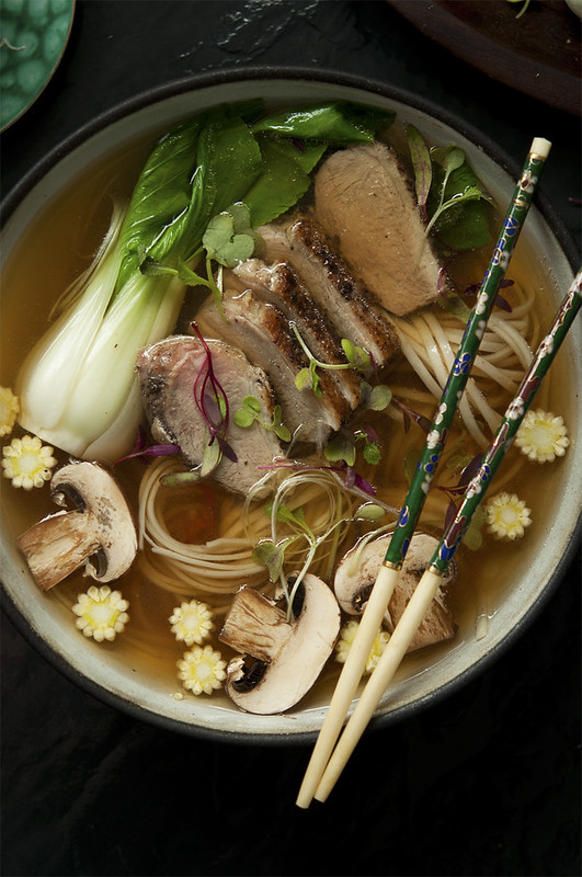 Duck, Chilli, Ginger Noodle Broth