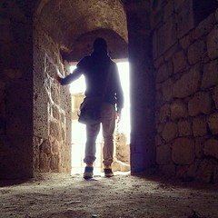 Follow the light. #iphoneography #photography #ruins. The #modern #indianajones pwede rin #tombraider #adventure #travel #wanderlust #earth #ruins #armenia #tatev monastery