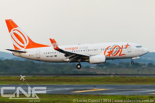 Boeing 737-700 Gol Linhas Aéreas PR-GEC