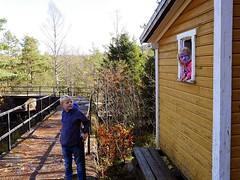 Tur i tømmerrenna i Vennesla