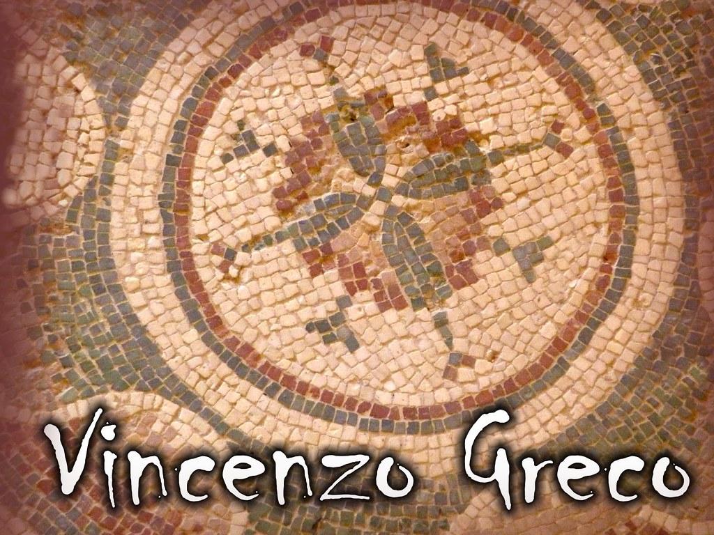 Vetrate artistiche mosaici vincenzo greco 39 s most for Mosaico romano