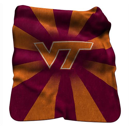Virginia Tech Hokies NCAA Raschel Blanket