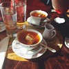 Tea time in Estes. (From Sunday)