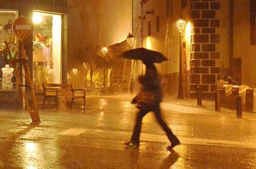 Rain on Tenerife